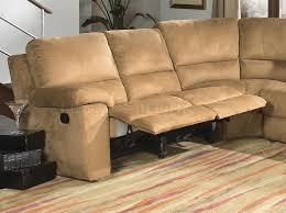 Sectional Sofas That Recline by Micro Suede Contemporary Reclining Sectional Sofa