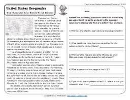 cross curricular reading comprehension worksheets free worksheets