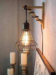 Installing A Wall Sconce Hanging Cage Light Shelf Brackets Shelves And Creative