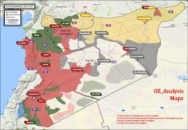 Syria World Map by Isil U0027s Rule In Northern Syria Is Coming To An End Map