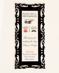 black magnetic photo booth frame photo booth frames