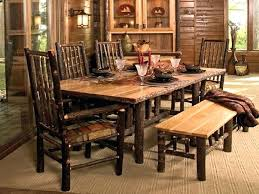 black dining table with bench rustic farmhouse dining table rustic kitchen table with bench