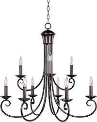 Candle Lit Chandelier Designers 9039 Ni Barcelona 9 Light Chandelier