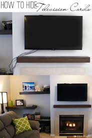 Tv Wall Mount With Shelf For Cable Box Best 25 Hide Tv Cords Ideas On Pinterest Hiding Tv Cords