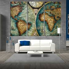 Map Wall Decor by Shop Antique Map Print On Wanelo