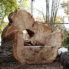 Natural Playground Ideas Backyard Log Chairs