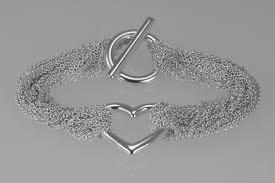 tiffany heart bracelet sterling silver images Tiffany mesh sterling silver heart bracelet the chelsea bijouterie jpg