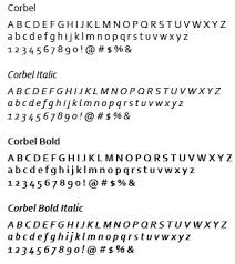 Download Corbel Font Typography University Of Wisconsin Whitewater