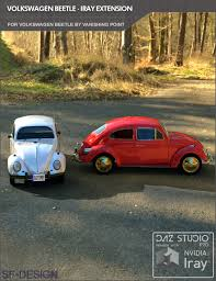 volkswagen beetle studio max 3d iray extension for volkswagen beetle by vanishing point for daz