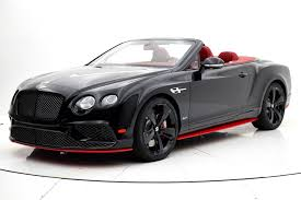 bentley continental gt speed more 2017 bentley continental gt speed convertible black edition