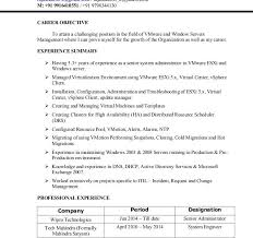 projects ideas vmware resume 2 rajasekar resume resume example