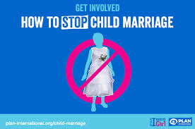 marriage slogans child marriage early marriage plan international