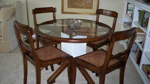 Round Glass Kitchen Table Round Glass Table Best Suncoast Cast Aluminum Tables 36 Round