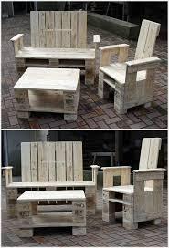 Wood Pallet Patio Furniture - 1157 best old pallets images on pinterest pallet ideas wood