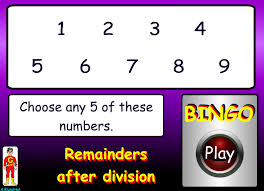 recall multiplication and division facts for multiplication tables