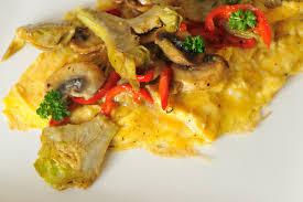 cuisiner l artichaud omelette à l artichaut cuisine à l ouest