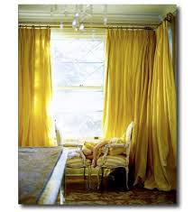 Yellow Faux Silk Curtains Alluring Yellow Faux Silk Curtains Ideas With Yellow Silk Drapes