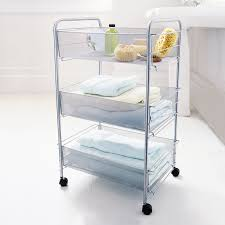 Bathroom Storage Cart Bathroom Storage Trolley With Excellent Styles Eyagci