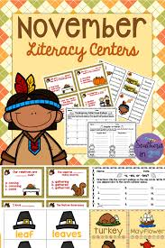 november literacy centers ccss aligned plural nouns recording