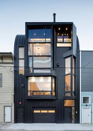 Modern House Exterior by Alluring 50 Black House 2017 Design Inspiration Of The Spooky