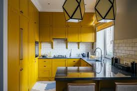 how to clean yellowed white kitchen cabinets 30 beautiful yellow kitchen ideas