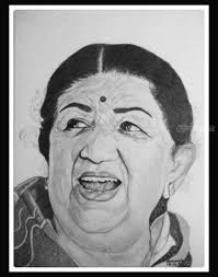drawings sketch by shivkumar menon fine art portrait created