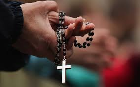 catholics plan mass rosary prayer around the coast