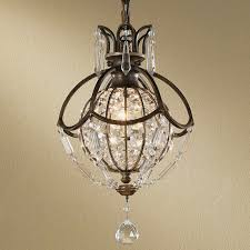 Mini Bronze Chandelier Globe Mini Chandelier Shades Of Light