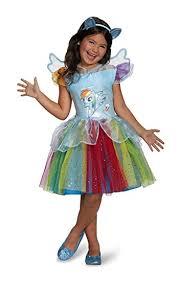 my pony costume rainbow dash tutu deluxe my pony costume small