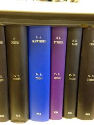 From Lorraine McSweeney  It was a proud and surreal moment to see my PhD thesis join eminent academics      work on the Fuse Director     s bookshelf of fame at