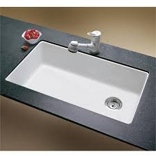 Single Undermount Kitchen Sinks by Elegant White Undermount Kitchen Sink Single Bowl Blanco Single