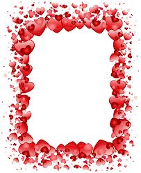 halloween borders transparent background valentine u0027s day hearts border transparent png clip art image