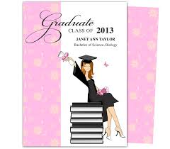printable diy grad announcements feminine wealth design