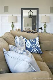 Best  Tan Couch Decor Ideas That You Will Like On Pinterest - Decorative pillows living room