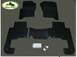 land rover oem floor mats rubber set lr3 08 09 lr4 lr006237 oem