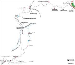 Lake Cumberland Map New River Segment U2013 Cumberland Trails Conference