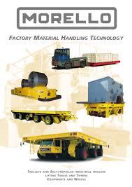 morello handling equipment complete catalog