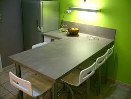 table cuisine pivotante de travail snack cuisine 14 avec pour table la pivotante idale et