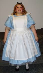 Halloween Costumes Alice Wonderland Classic Gallery Size Super Size Costumes Customer