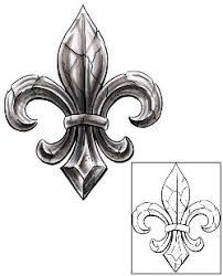 fleur de lis tattoos and tattoo designs