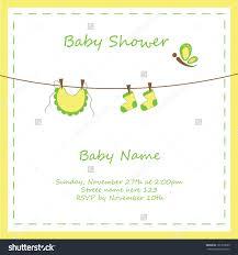 neutral baby shower invitation templates