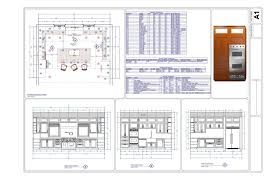 commercial kitchen layout sample interior design ideas