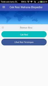 Cek Resi Cek Resi Wahana Ekspedisi App Ranking And Store Data App