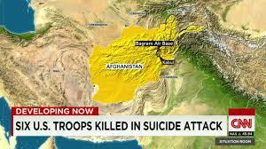 Bagram Air Base Map Bagram Afghanistan Attack 6 U S Troops Killed Cnn