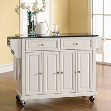 cheap kitchen islands and carts crosley newport granite top kitchen cart island portable hayneedle