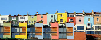 painted houses painted houses near bristol harbourside featured on www flickr