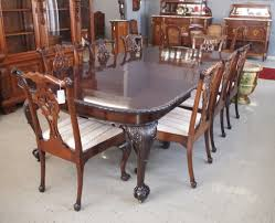 chippendale dining room set chippendale dining table