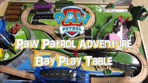 paw patrol adventure bay play table assembling paw patrol adventure bay play table its play time