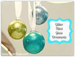 glitter inside glass ornaments day 10 of 12 days of