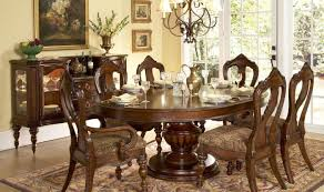 dining room 6 person round table amazing round dining room sets